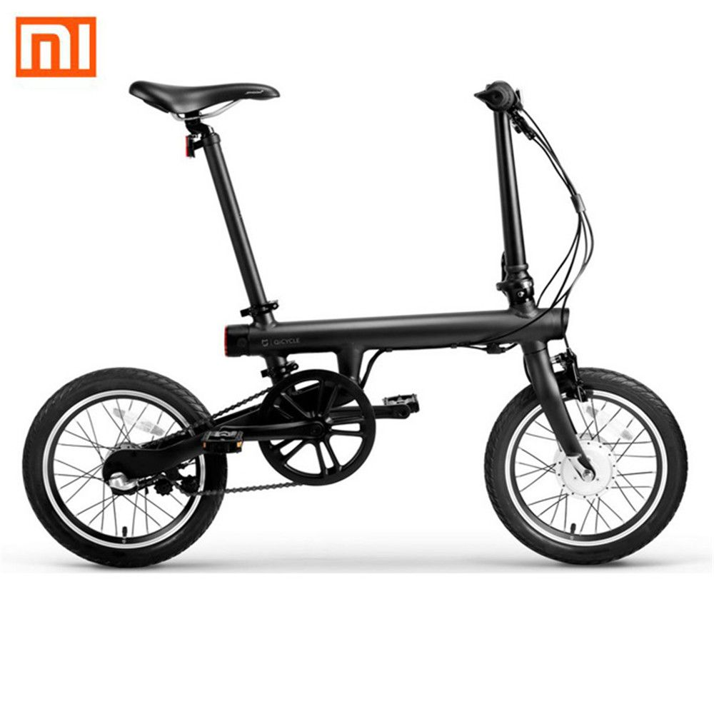Original Xiaomi QiCYCLE-EF1 Smart Foldable Electric Bike Bicycle Bluetooth 4.0 Bicycle Support for APP Free Shipping No Tax