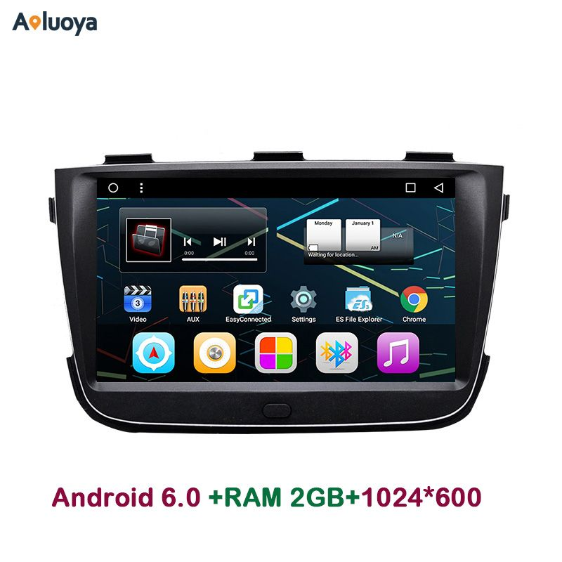 Aoluoya 8 Inch IPS 2GB RAM Android 6.0 Car DVD radio gps navigation For KIA Sorento 2013 2014 Audio video player head unit WIFI