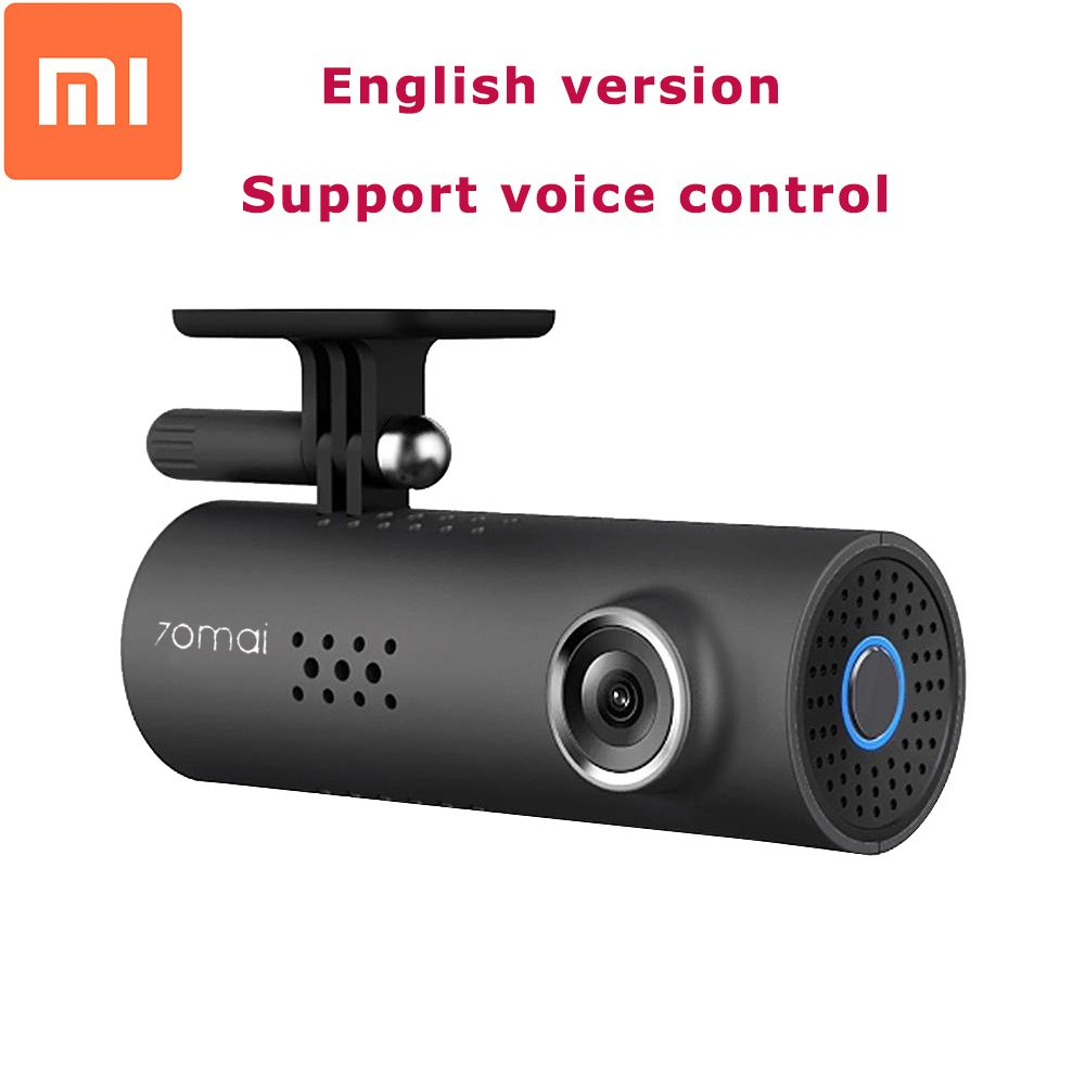 Original Xiaomi 70 Minutes 1080P Full HD Smart Car DVR Night Version WiFi 130 <font><b>Degree</b></font> Wireless Dash Cam G-Sensor Driving Record