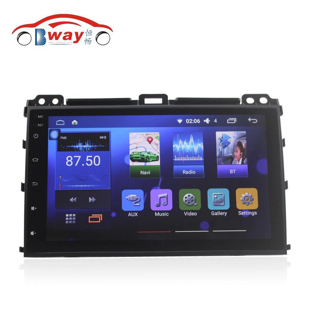 Bway autoradio für Toyota Prado 120 (2004-2009) android 6.0 auto dvd player mit SWC, wifi, spiegel link, DVR, Unterstützung JBL Verstärker