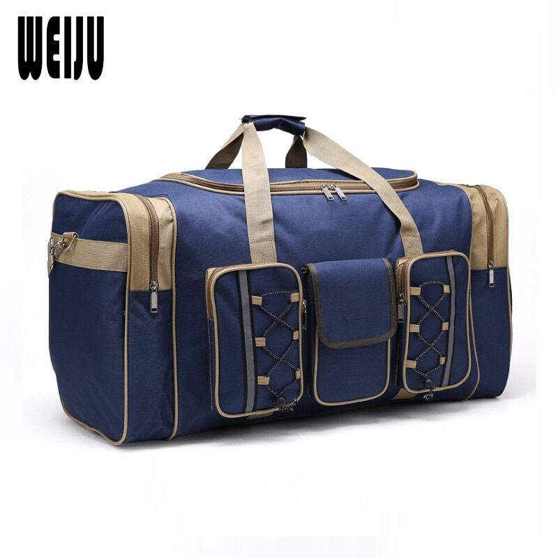 WEIJU 2017 Men Travel Bag Large Capacity Women Travel Luggage Duffle Bags Casual Shoulder Bag Handbag Mala Viagem YR0178