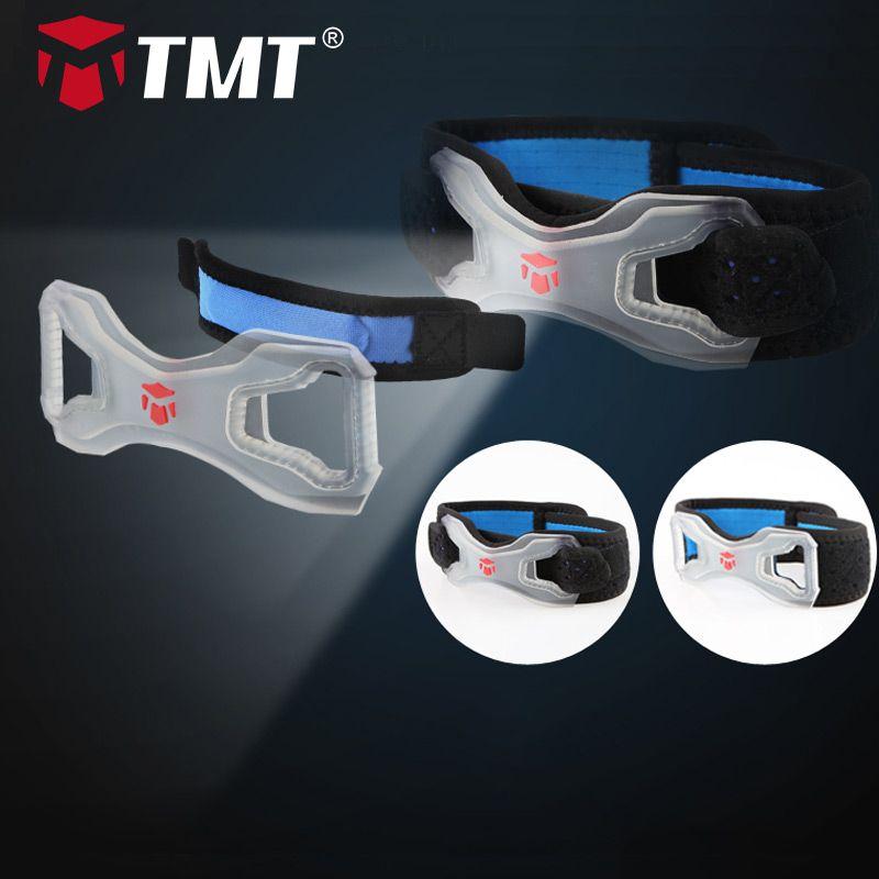 TMT genouillère Support rotule Silicone joint de protection genouillères glace froid respirant absorber sueur tissu sécurité garde orthèse genouillère