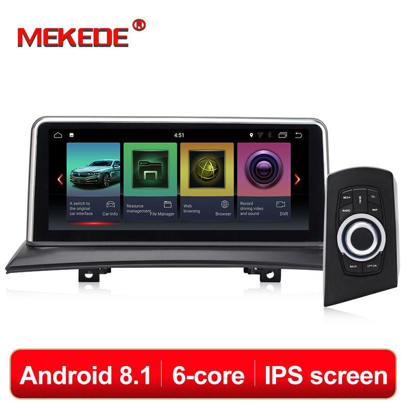 MEKEDE IPS Bildschirm Android 8.1 2 + 32G Auto GPS Navi Bildschirm Für BMW X3 E83 2003-2009 Multimedia recorder BT WIFI Google 2 + 32G RAM