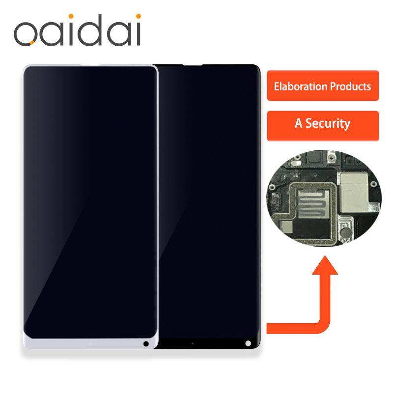 Für Xiaomi Mi MIX 2 MIX2 LCD Display Touchscreen Panel Handy Lcds Digitizer Assembly Ersatzteile mit Freies werkzeuge