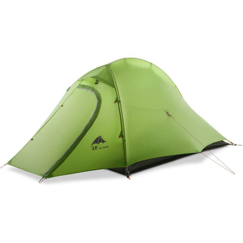 3F UL GEAR Outdoor Ultraleicht Carpas 15D Camping zelt 1-2 Person 4 Saison Tenda Tente wandern angeln strand barracas para camping