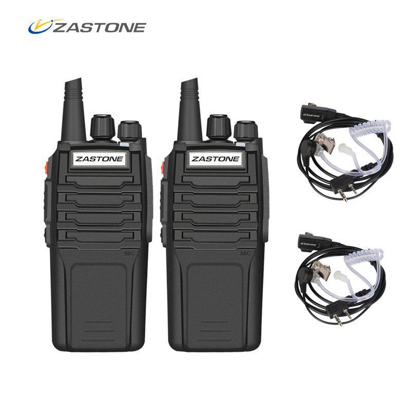 (2pcs)Zastone Walkie Talkie A9 10W Radio Amador UHF 400-480MHz Handheld Transceiver CB Radio Portable Comunicador