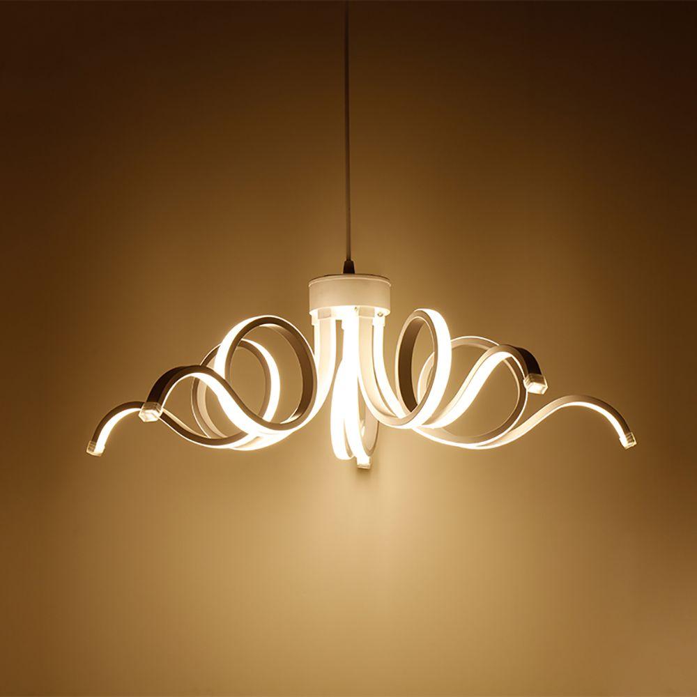 LED Modern Pendant Lamp Aluminium 90-260V For Living Room Pendant lamps Indoor Fixture Pendant Lighting Acrylic Hanging Lighting