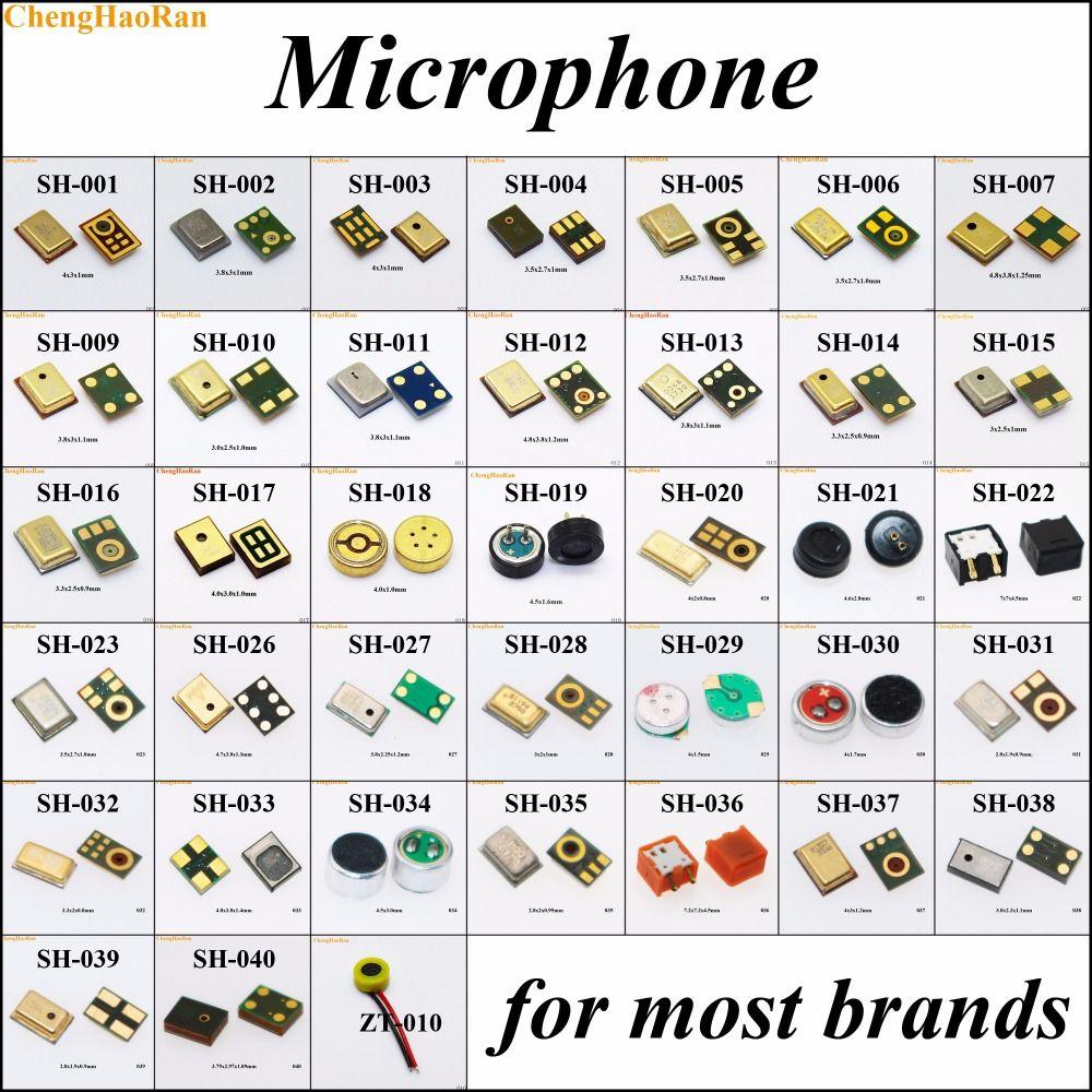 En gros 38 modèles Microphone Mic Récepteur Interne De Réparation Partie Pour Samsung Nokia HTC Pour MOTO Huawei Xiaomi pour Lenovo Redmi