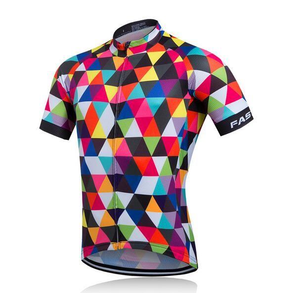 2018 roupa Cyclisme Jersey Vtt Vêtements De Vélo Vélo Porter Des Vêtements Courts Maillot Roupa Ropa De Ciclismo Hombre Verano vélo jersey