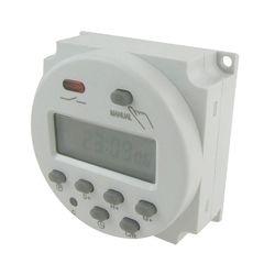 LCD Puissance Numérique 12 V/24 V/110 V/220 V AC/DC 7 Jours Programmable minuterie Interrupteur Horaire Et CN101A \ CN102A Accessoires-M25