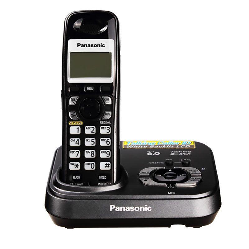 Numérique CordlessEnglish Téléphone Avec Réponse Systerm Mains Libres Call ID Sans Fil Sans Fil Fixe Téléphone Fixe Pour Home Office