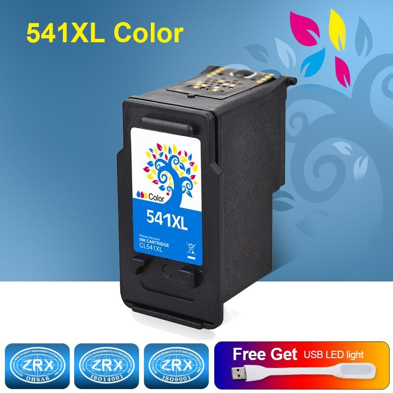H&BO Re-manufactured Ink Cartridge Replacement for CL541XL for Canon Pixma MG2250 2150 3150 3250 4250 4150 MX435 375 515