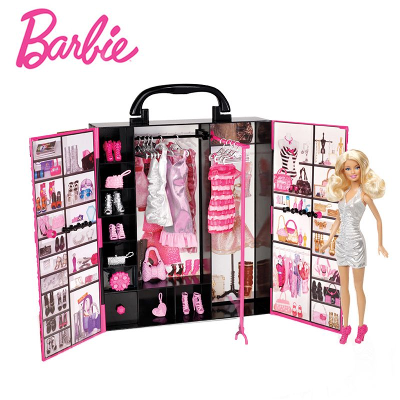 Original Barbie Doll Toys Lady Ultimate Fantasy Closet Baby Toys Clothing Costumes Suit Educational Toy Birthday Gift For Girls