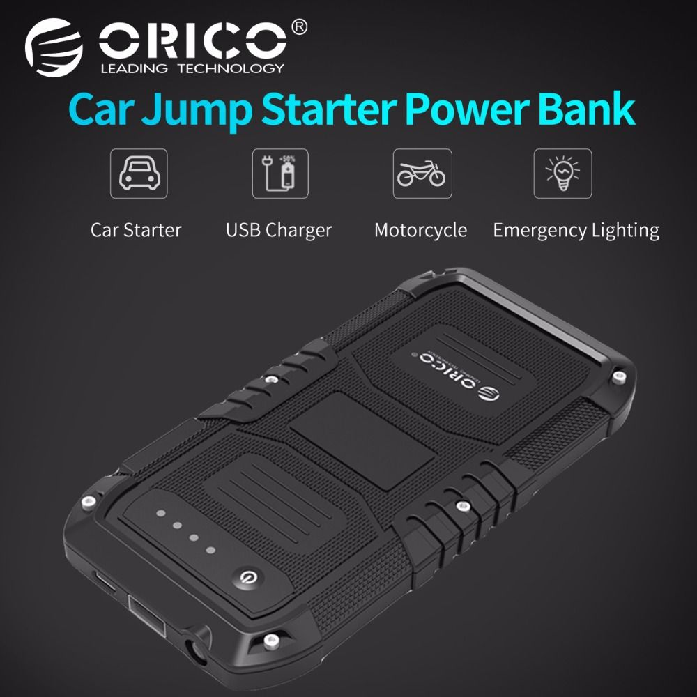 ORICO CS1 Car Emergency External Battery Portable Power Bank Charger Adpater Booster Starting Power Bank for Samgsung Xiaomi
