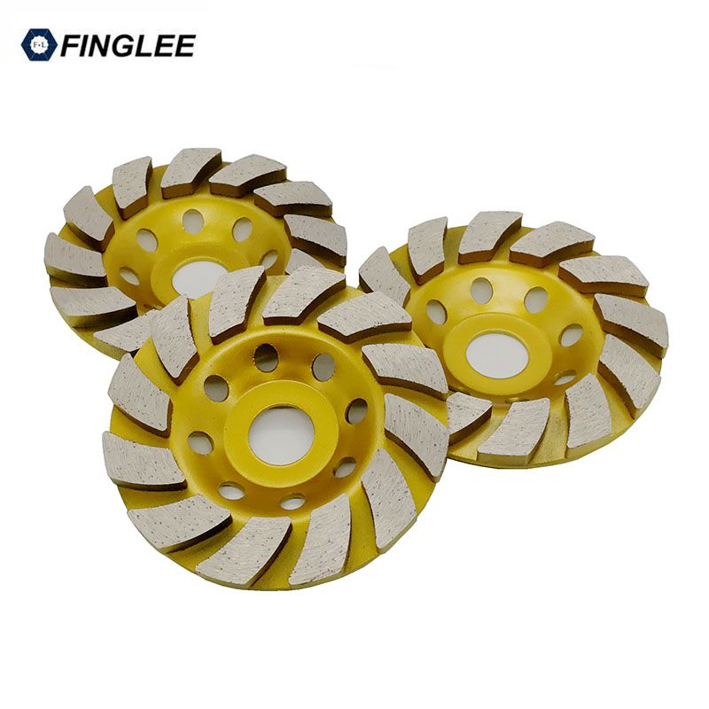 4inch/5inch Inner 22.23mm Diamond Wheel Disc Bowl Grinding Cup Concrete Granite Marble Stone Polishing Pads Masonry Tools