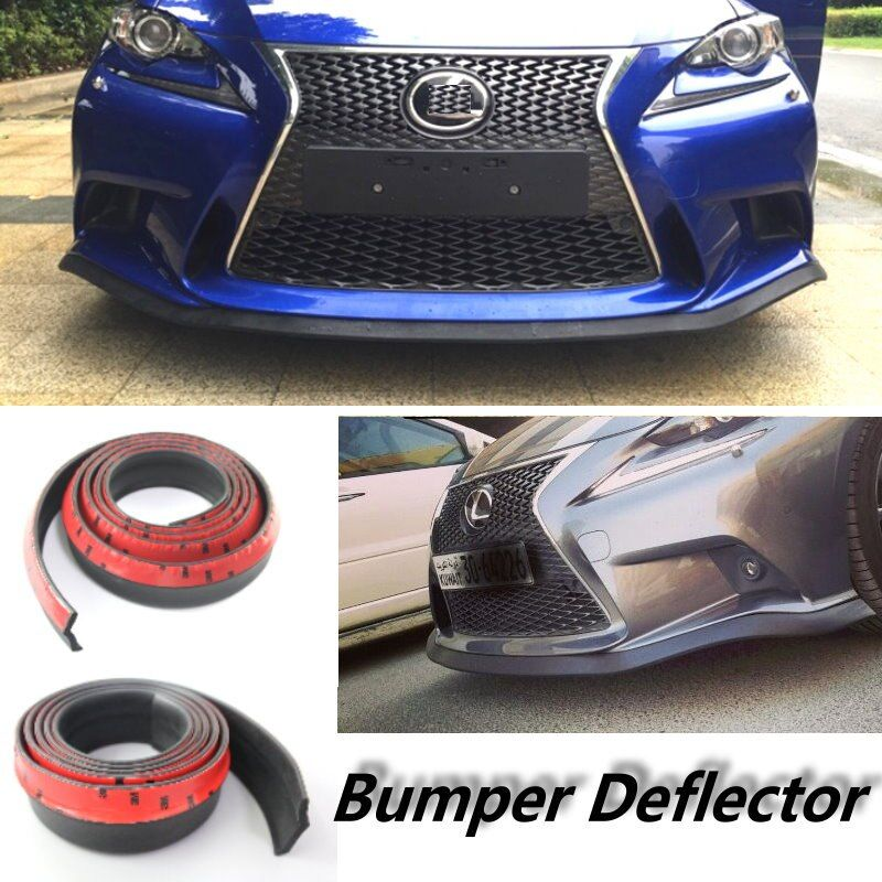 Car Bumper Lips For Lexus NX 200 240 300h GS 250 300 350 400 430 450h For TOYOTA Arist Spoiler Body Kit Strip / Front Tapes