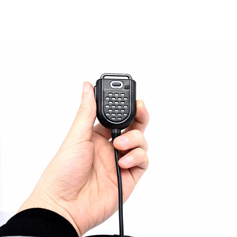 Vente chaude 2 Broches PTT Haut-Parleur Mic pour Kenwood BAOFENG UV-5R BF-888S Retevis H777 RT3 TYT PUXING QUSHENG Jambon Radio talkie-walkie