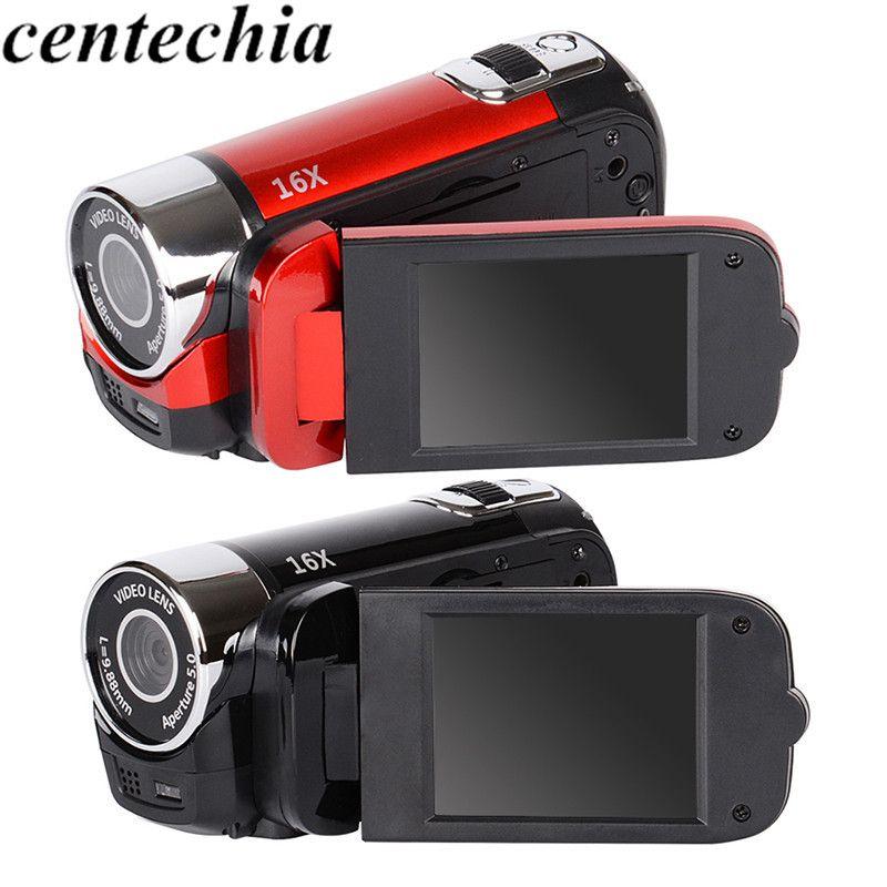 Kamera Digitale 2,7 zoll TFT HD Video Camcorder Kamera 1080 P DV DVR 16X LCD Digital Zoom 16MP CMOS Digital Video professionelle