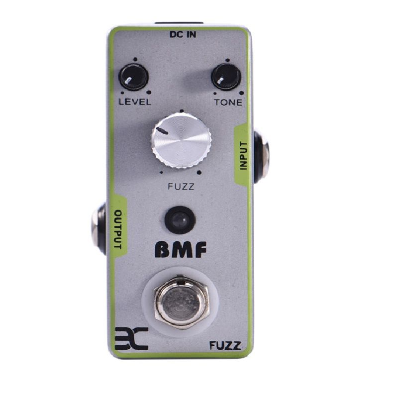 Grosse Muff tone FUZZ pédale d'effets guitare classique distorsion effets pédale Full Metal Shell True By Pass blanc métal distorsion