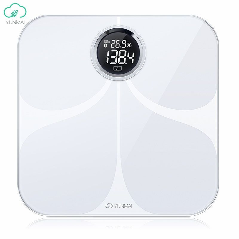 International Version Yunmai Premium Smart Weight Scale 10 Body Date Healty Digital Big Scales English APP Analyze Loss Weight