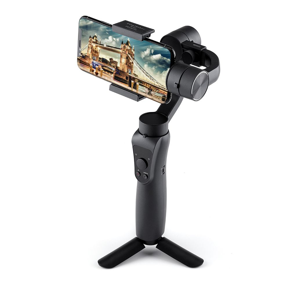 Smartphone Handheld Gimbal 3-Axis Stabilizer Phone Action Camera Bluetooth APP Selfie Stick for Xiaomi iPhone X Oneplus Samsung