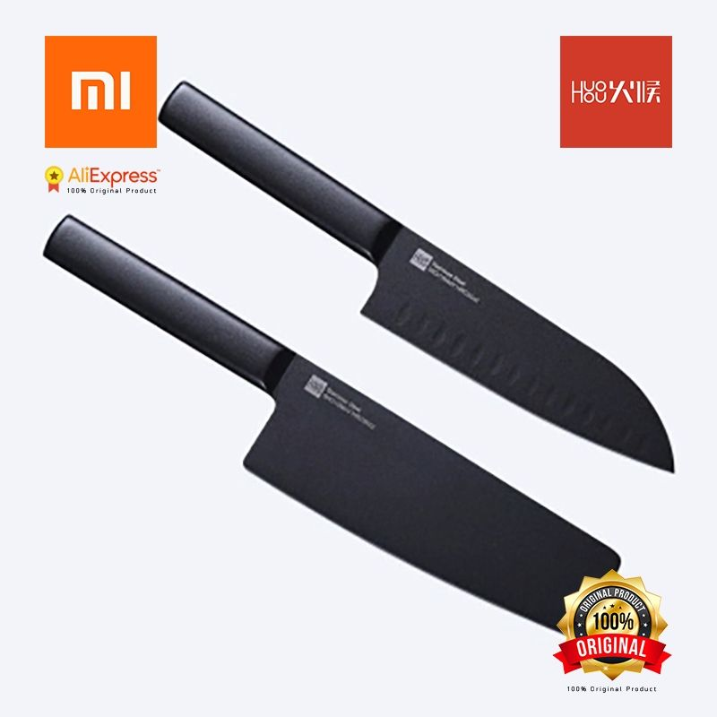 Xiaomi Original Knife Stainless Steel Blades suit Kitchen high Color values, sticking knife chopping