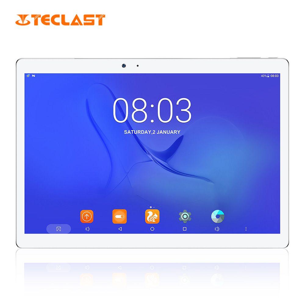 Teclast Master T10 10,1 zoll Tablet PC Android 7.0 MTK8176 Hexa Core 1,7 GHz 4 GB 64 GB Fingerabdrucksensor Dual WiFi/Kameras OTG