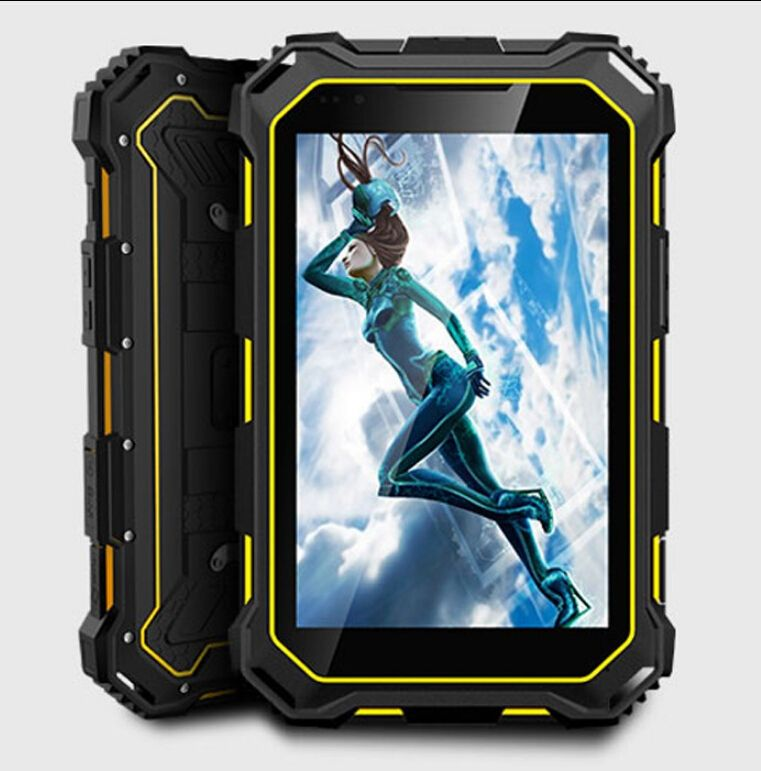 Rugged Tablet 7.0 Inch PC V9 with Mobile Phone, IP68 Waterproof GSM/ WCDMA 7000mAH MTK8382 Quad core 3G Android4.4 tablet