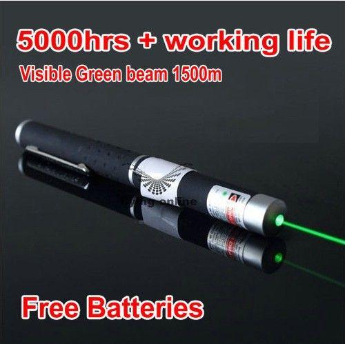 Jshfei 532nm 5 MW puntero láser verde pluma linterna al por mayor Lazer pluma linterna láser