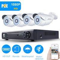 4-канальный 720p PoE для системы видеонаблюдения открытый IP-камера HD рекордер 4ch интерфейс HDMI для P2P PoE для видеонаблюдения безопасности домашне...