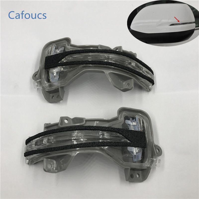 Cafoucs LED rearview side mirror turn signal lights indicator lamp for Honda C-RV CRV Accord SPIRIOR ODYSSEY CITY FIT VEZEL HRV