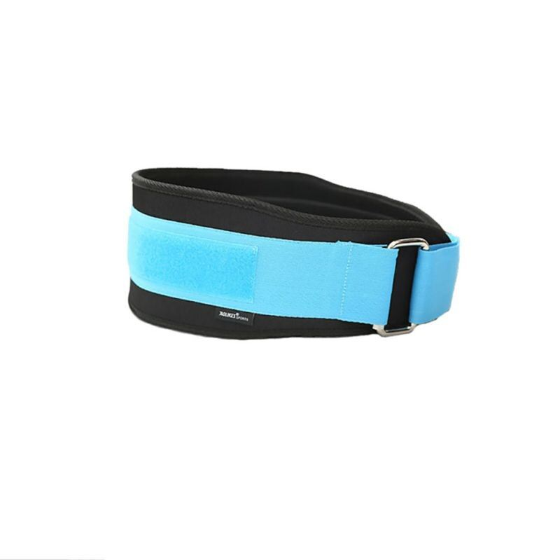 Weightlifting Squat Belt Lower Back Support Nylon EVA Gym Bodybuilding Squats Training Fitness Protector Belts Sport Safety 2017