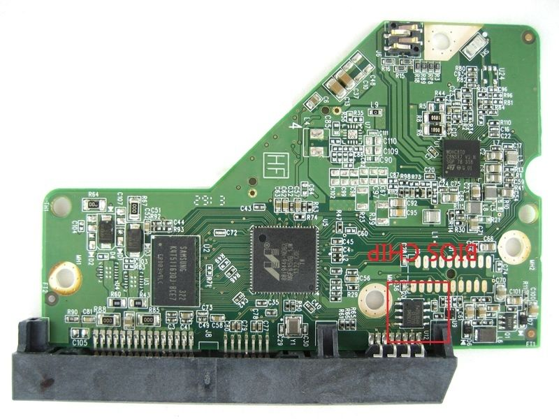 HDD PCB logic board circuit board 2060-771945-001 REV A/P1 for WD 3.5 SATA hard drive repair data recovery