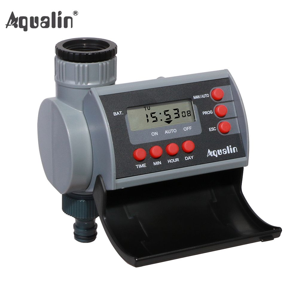 Solenoid Valve Digital Home <font><b>Garden</b></font> Automatic Water Timer <font><b>Garden</b></font> Irrigation Controller System with LCD Display #21002