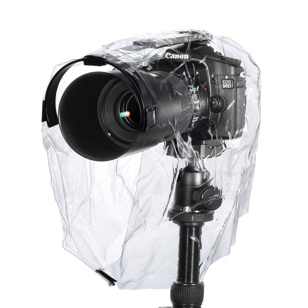 Neewer housse de pluie Manteau Poussière Preuve protège-caméra Vêtements de Pluie Étanche À La Pluie pour Canon Nikon Sony Samsung tels que Canon EOS 300D 350D