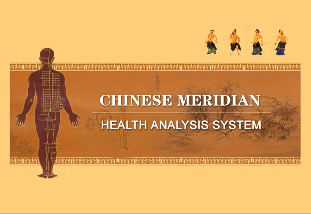 2016 Updated Chinese meridian health analysis/ detector system
