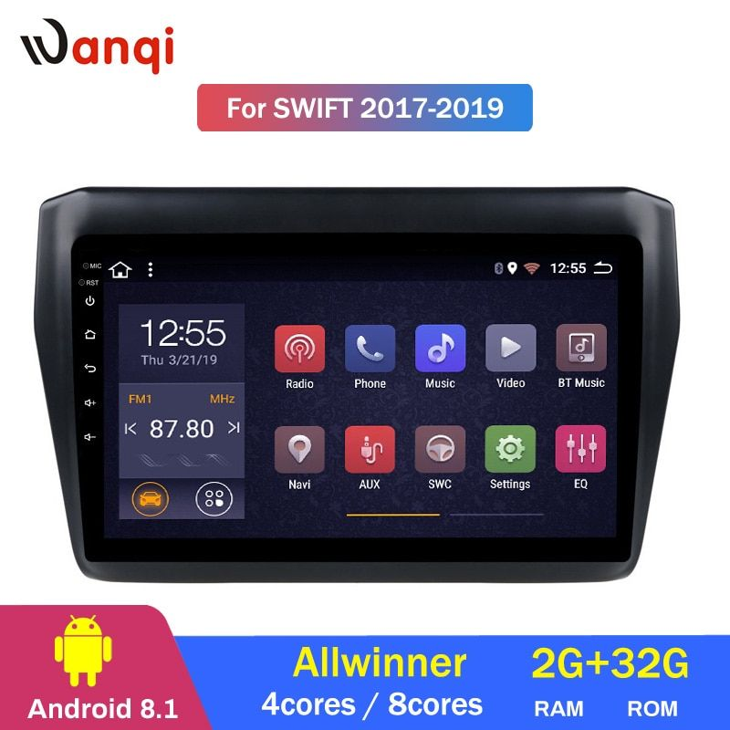 2G RAM 32G ROM Android 8.1 Auto Multimedia-Player Für Suzuki Swift 2017 2018 2019 Auto DVD GPS Navigation