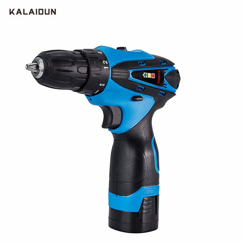 KALAIDUN 16.8V Mobile Electric Drill Power Tools Electric Screwdriver Lithium Battery Cordless Drill Mini Drill Hand Tools