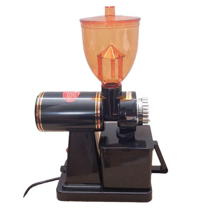 110 V et 220 V à 240 V moulin à café de couleur noire moulin à café avec adaptateur de prise