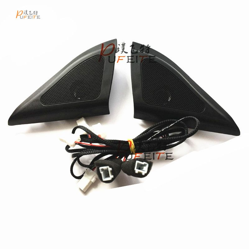 For Hyundai ix25 speakers tweeter car-styling Audio trumpet head speaker ABS material triangle speakers tweeter