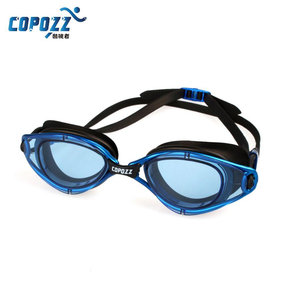 Schwimmen Brillen Wasserdichte Silikon Gläser Anti-Fog Männer Frauen Schwimmbrille