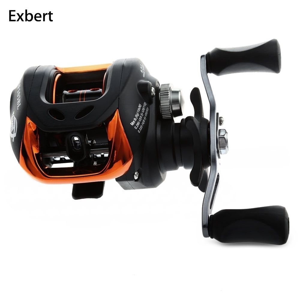 10+1BB Left Right <font><b>Hand</b></font> Baitcasting Fishing Reel 6.3:1 Bait Casting Fishing Wheel With Magnetic Brake Carp Carretilha Pesca AF103