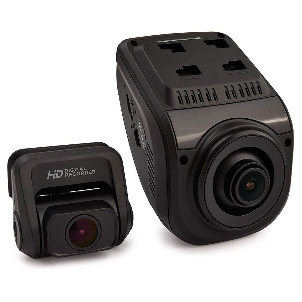 Rexing V1P 3rd Generation WiFi Dual 1080p+1080p Full HD Front and Rear Camera 170 Degree Wide Angle Car Dash Cam