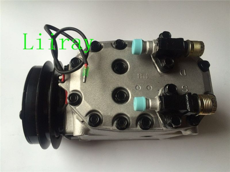 Auto air conditioning compressor for TM19 CMA22242 for mitshubish bus truck 24V