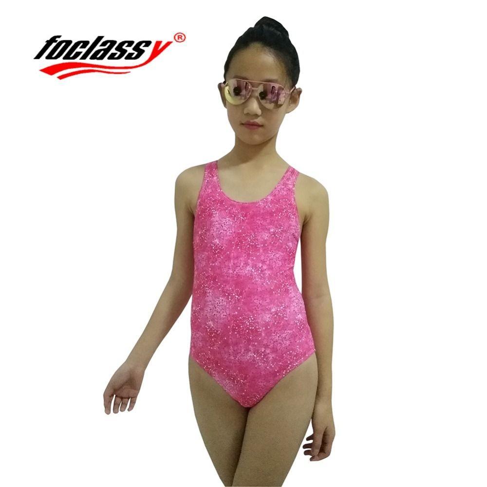 Kinder Schwimmen Kleidung 2018 Mädchen Sport Badeanzug einteilige Badebekleidung Für Kinder Badesachen Professionelle Mädchen Bademode 6-16