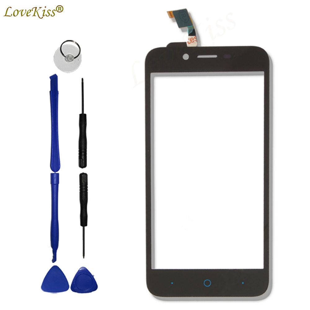 L4Pro Front Panel For ZTE Blade L4 A460 L4 Pro A465 T610 A475 Touch Screen Sensor LCD Display Digitizer Glass Cover Replacement