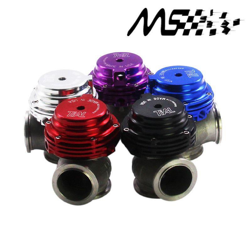 Tial MVS 38mm Wastegate En Aluminium Top Acier V-bande Externe Déchets Porte Pour Suralimenter Turbo Collecteur 14PSI