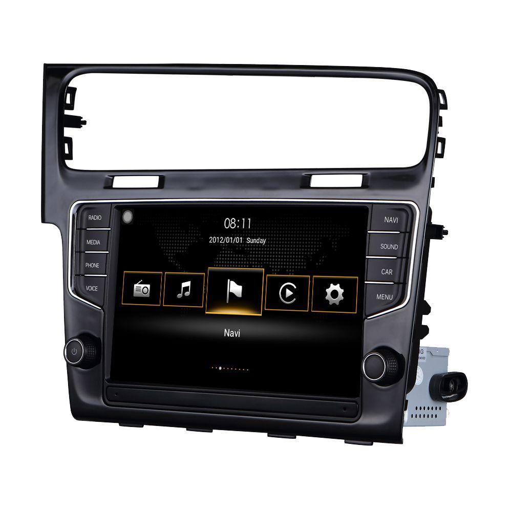 Für VW Golf 7 MK7 2014 2015 Für Volkswagen MIB System Android Auto CarPlay Quad Core Auto Zubehör Radio Stereo GPS Navigation
