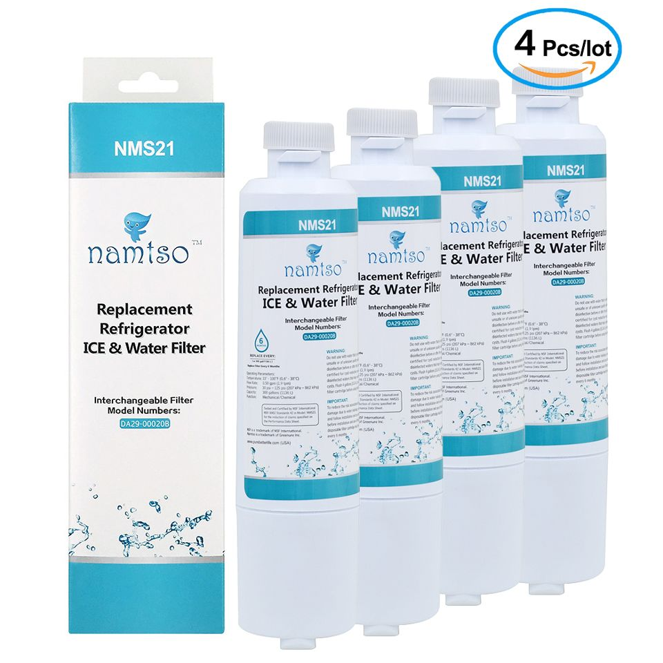 Nouvelle marque Namtso NMS21 purificateur d'eau ménage réfrigérateur glace et filtre à eau remplacement pour Samsung DA29-00020B/A 4 Pcs/lot