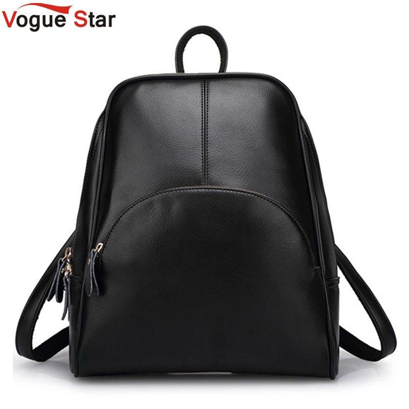 Vogue Star! 2018 NEW fashion <font><b>backpack</b></font> women <font><b>backpack</b></font> Leather school bag women Casual style YA80-165